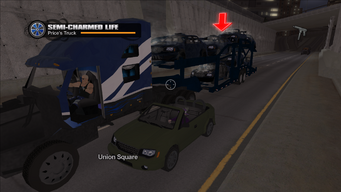 Semi-Charmed Life - damaged cab with full health meter
