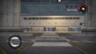 Wardill Airport main terminal entrance