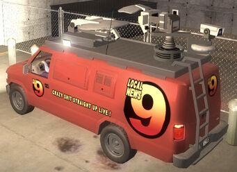 Anchor - News 9 - rear left in Saints Row 2