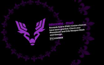 DLC unlock SRTT - Rewards STAG