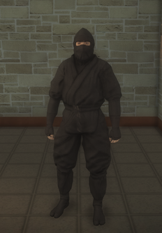 Gang Customization - Ninjas - male lieutenant 1 - asian