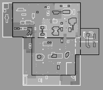 Saints Row Industrial Map - Layout