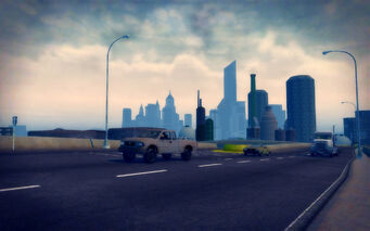 The Mills in Saints Row 2 - freeway