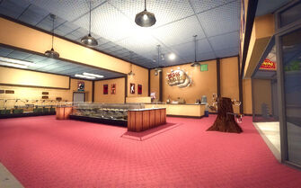 Rounds Square Shopping Center - Brass Knuckles interior
