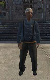 Utilityworker - black - character model in Saints Row