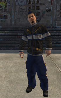 Donnie - character model in Saints Row