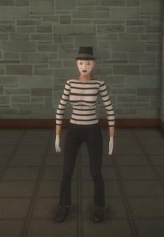 Mime - random Sophie preset - character model in Saints Row 2
