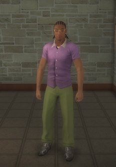 Pimp - black generic - character model in Saints Row 2
