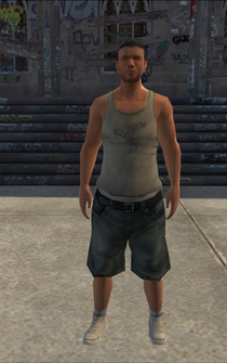 Poor male - white - character model in Saints Row