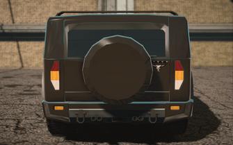 Saints Row IV variants - Bulldog ultimate - rear