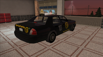 Saints Row variants - Taxi - BigWilly - rear right