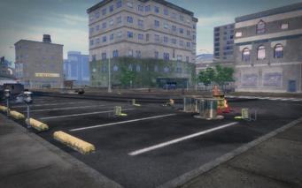 Shivington - empty parking lot