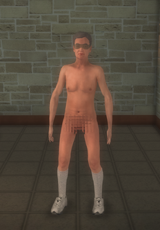 Streaker - old - character model in Saints Row 2