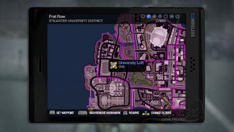 University Loft - map marker