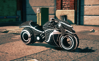 Wireframe Phantom in Saints Row IV