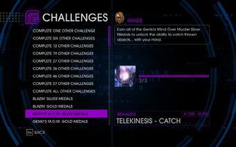 Challenge 12 Genki's M.O.M. Silver Medals