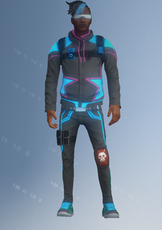 Deckers - Jack - character model in Saints Row IV