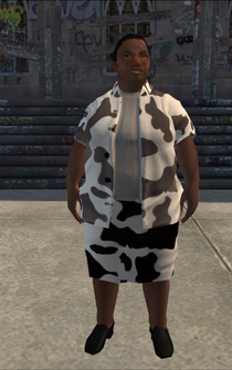 FatLady - cow b - character model in Saints Row