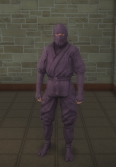Gang Customization - Ninjas - male soldier 1 - white