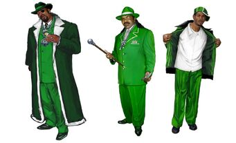 Pimps Concept Art 01 - Green