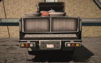 Saints Row IV variants - Flatbed Average - rear