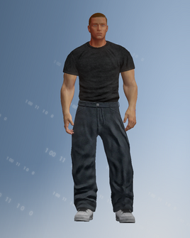 Saints Row player character model in Saints Row IV