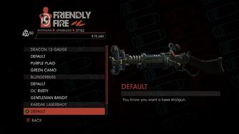 Weapon - Shotguns - Pump-Action Shotgun - Kardak Lasershot - Default
