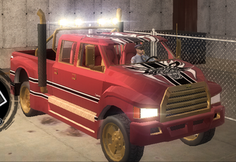 Brotherhood Compensator with Unique Hitch - front right in Saints Row 2