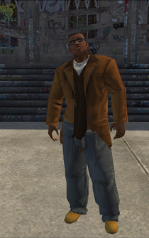 Hitman - Marcel - alternate - character model in Saints Row