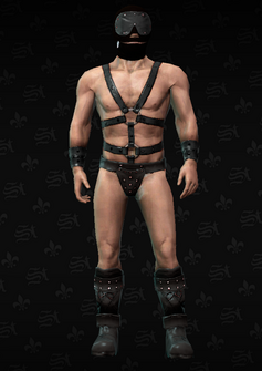 Hos gimp - Peter - character model in Saints Row The Third