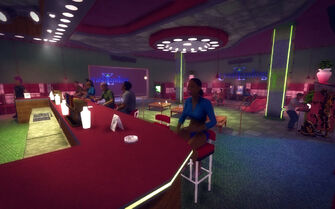 Huntersfield in Saints Row 2 - Crash Landing bar