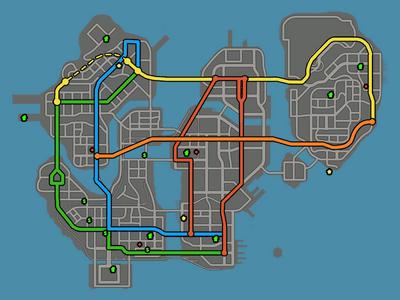 Screen map steelport