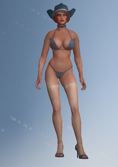Stripper01 - Kandy - character model in Saints Row IV
