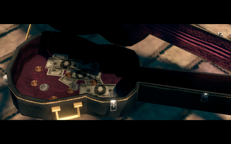 Cash in Gang Bang cutscene in Saints Row The Third