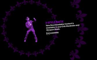 DLC unlock Saints Row The Third - Z Style Pack