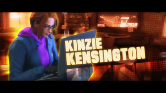 Kinzie Kensington in the Deckers.Die trailer