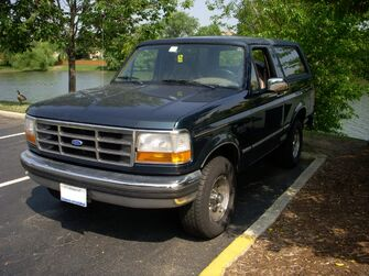 Nordberg - real life 1995 Ford Bronco XLT