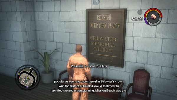 Saints Row Church audio tour - Stilawter's testiment