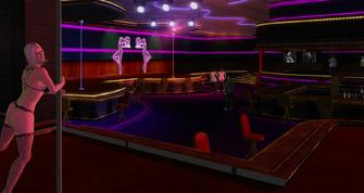 Tee'N'Ay - interior view from dance floor in Saints Row