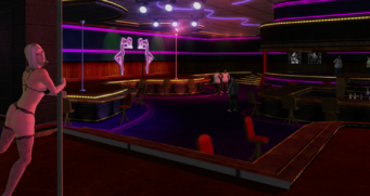 Tee'N'Ay - interior view from dance floor in Saints Row