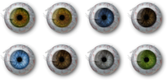 Cust pcr eyes