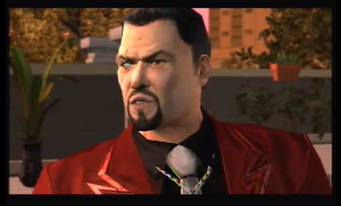 Hector Lopez left side of face unknown cutscene