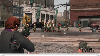 Luchadores - standing in parking lot in gameplay preview