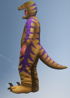 Raptor Ned - left - character model in Saints Row IV