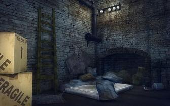 Red Light Loft - Cheap - bed