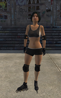 Rollerskater - asian2 - character model in Saints Row