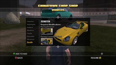 Saints Row Chop Shop - Chinatown - Zenith