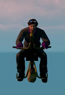 Saints Row The Third DLC vehicle - Salem - hover - front
