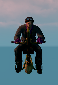 Saints Row The Third DLC vehicle - Salem - hover - front