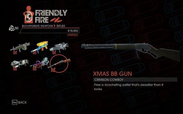 Weapon - Rifles - Xmas BB Gun - Main